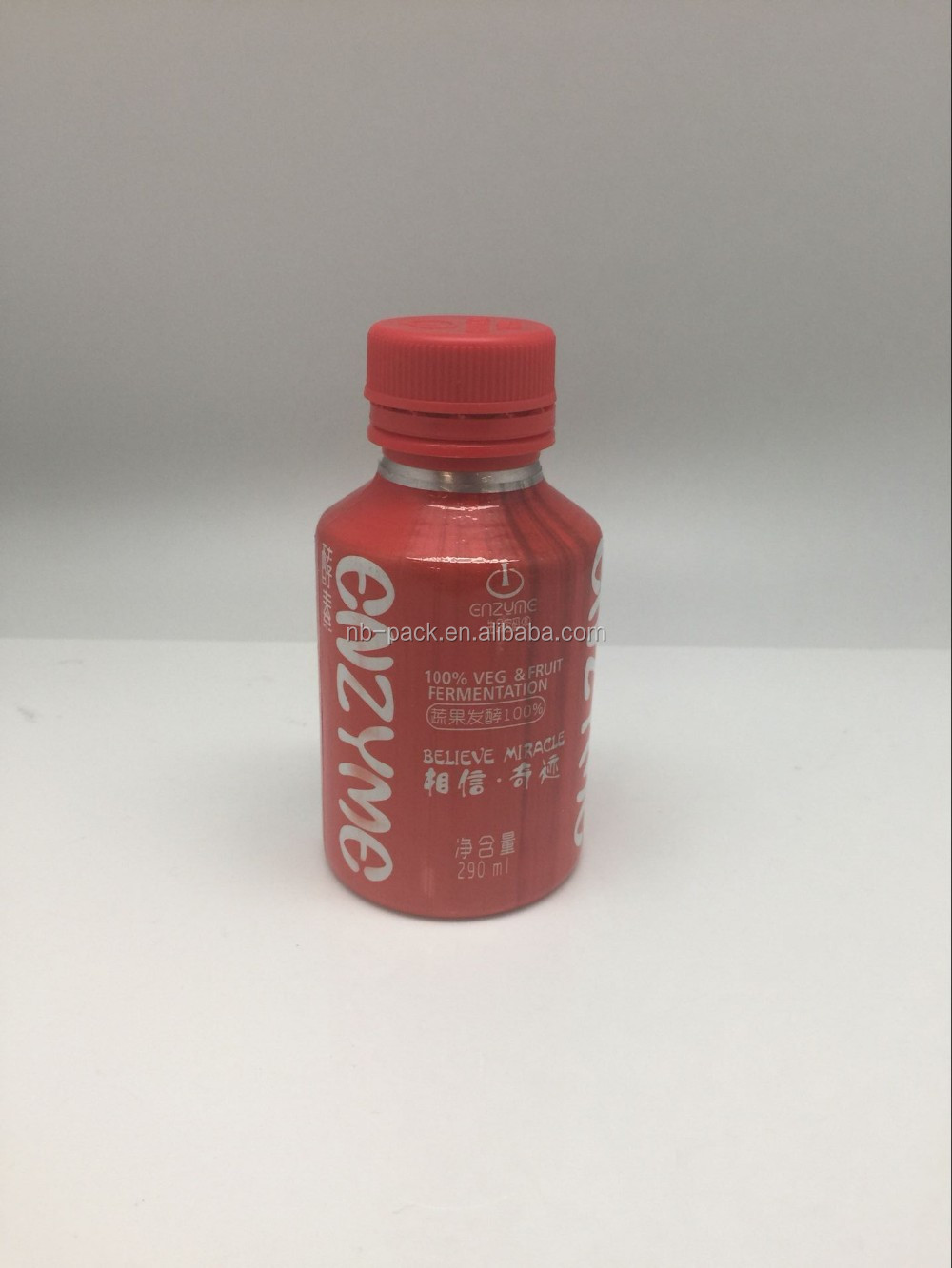 Wholesale mini bottles of champagne with food coating inside