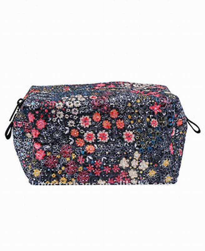 Fashionprinting polyester cosmetic pouch Cosmetic bag