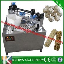 Easy operation and high efficient puffing/puffed rice ball forming machine