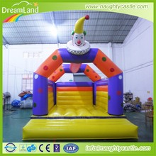 Clown Inflatable Bouncer House,Inflatable jumping bouncer with slide