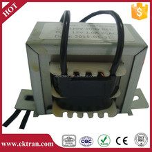 High efficiency low voltage power transformer
