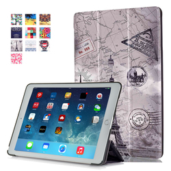 Hot selling Fashional painting flip leather tablet case for Apple ipad pro 9.7""