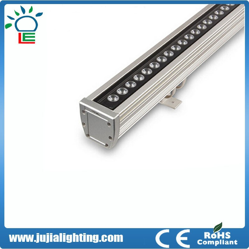 Good price!!!DMX512 RGB IP65 CE and ul listed 72*1W 72W linear led wall washer