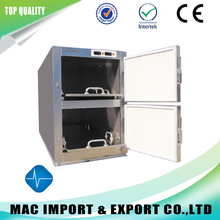 Two bodies mortuary refrigerator morgue freezer