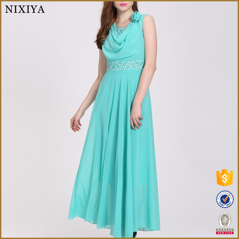 Factory Directly Wholesale Women Fashion Dress Summer Maxi ...
