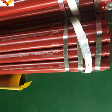 Black steel pipe fire fighting pipes