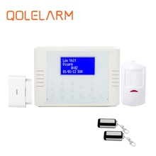 Modern intelligent Zone name freely edited GSM alarm, Spanish/Germany/Russian GSM alarm home