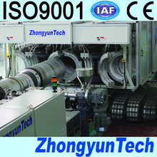 PE/PP/PVC Corrugated Pipe Production Line Manufacturer