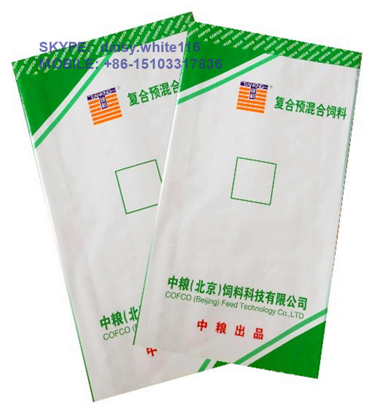 China supplier pp Woven bag for rice/ wheat /sugar white color polypropylene wheat bags pp woven wheat bags size 55x105cm