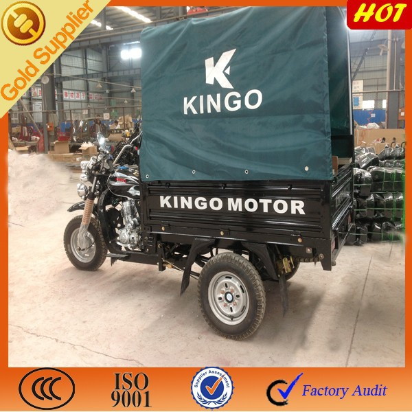 Chine new desgin for three wheeled motorcycle for open cargo