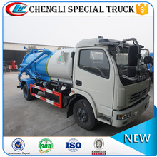 DongFeng 4x2 5cbm Vacuum Suction Truck used septic tank trucks