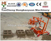 hongbaoyuan qmr2-45 hollow cement block making machine egg laying manual brick making machine in papua new guinea