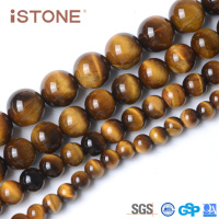 Wholesale 10MM Tiger Eye Stone For Jewerly Making