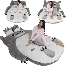 Soft cotton lovely totoro sleeping bag with zipper