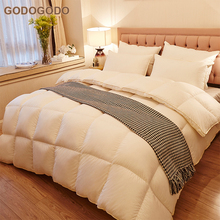 Wholesale Best Price Luxury Winter Quilt King Size 60S Cotton Cover Comforters Goose Down Duvet