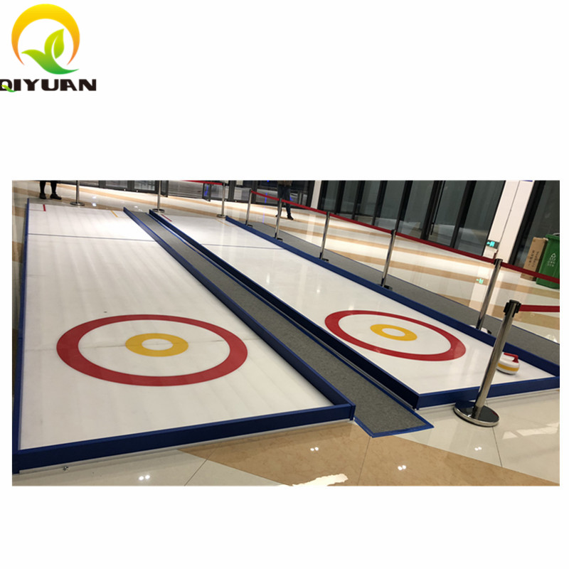self lubricating UHMWPE synthetic ice skating rink for sports entertainment
