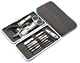 High quality stainless steel 12pcs professional nail clipper set , nail clipper kit