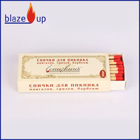 Cigar safety matches windproof match wood matches in bulk