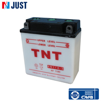 Factory wholesale 6N 11A-3 TNT 6v Lead acid Motorcycle Battery