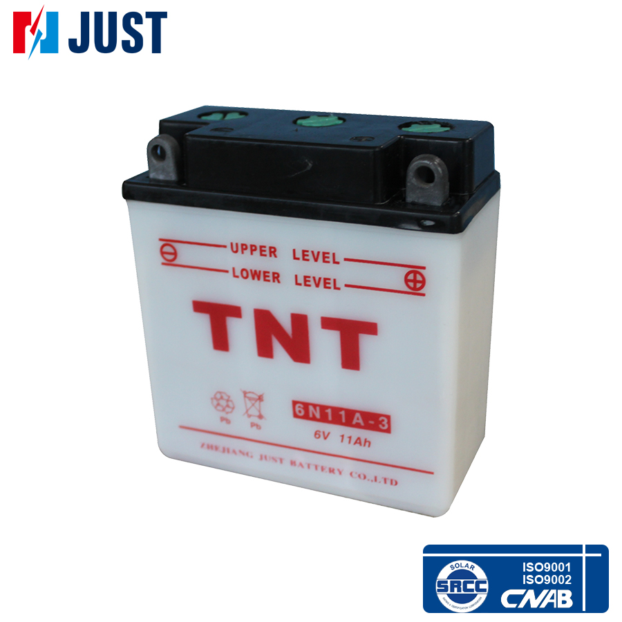 Factory wholesale 6v Lead acid Motorcycle Battery