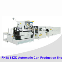 Automatic tin can welder 1-5L Round Chemical Tin Can Making Machinery