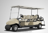Street legal cheap mini 6 people electric golf buggy with 2 years warranty