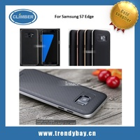 iPaky case PU bumper plus TPU back cover For samsung galaxy s7 edge