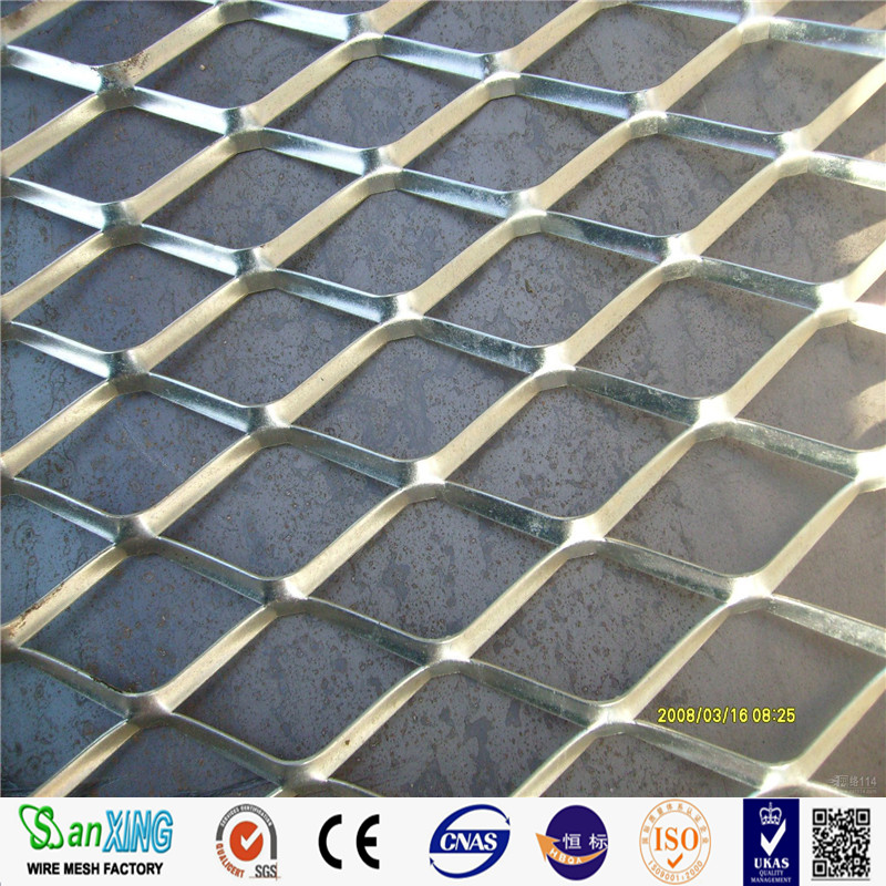 Heavy Duty Steel Diamond Flat Plate Expanded Metal Mesh/stainless steel decorative panels