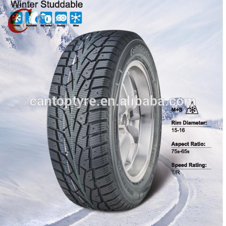 chinese Cheap Wholesale winter studdable car tire 195/65R15