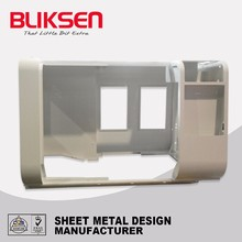 Custom sheet metal machinery shield de fabrication