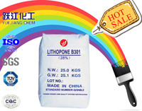 good price lithopone powder with 28% zns