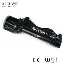 2013 Outdoor Lighting 50 Watts Archon High Powerful Diving Flashlight Torches 5000 Lumens for Professional Diving Enquipment W51