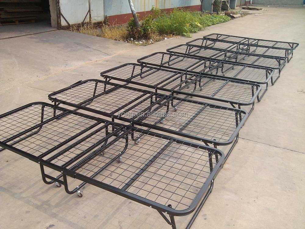 Steel Folding Bed With Mattress With Good Quality&Price