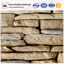 Artificial stone form dry stone wall cladding