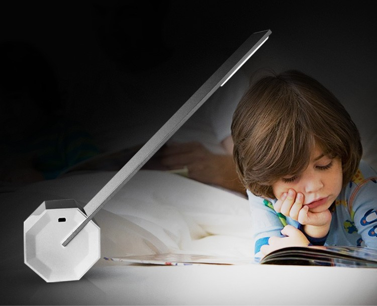 UYLED Balance LED Table Lamp Modern Cordless Touch Dimming Rechargeable Reading Light for Bedside