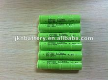 4.8v 1/3aa 300mah ni-mh rechargeable battery
