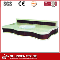 2015 Hot Sale Mirror Compact Artificial Quartz Stone Molds and Sinks