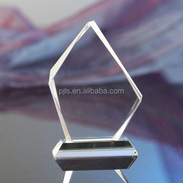 Diamond Shape Crystal Awards Trophy