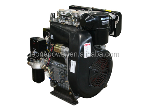 20hp 4-stroke Air Cooled Direct Injection Twin Cylinder ...