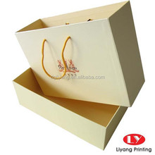 Pouplar Paper Gift Shoes Box with Handle
