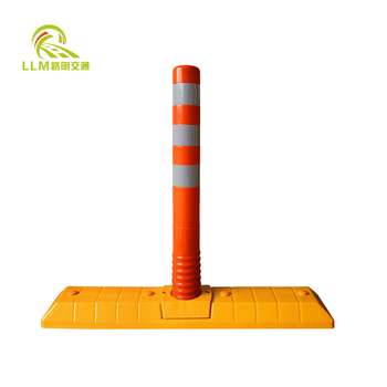 2018 New Items Traffic Safety Products Recovery Extensible Road Separator Lane Divider With Warning post