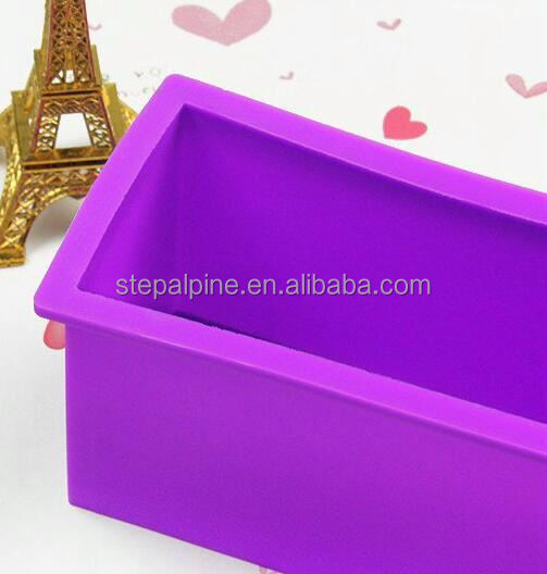 Silicone soap molds