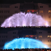 3D Water Projection Water Fountain Laser Show