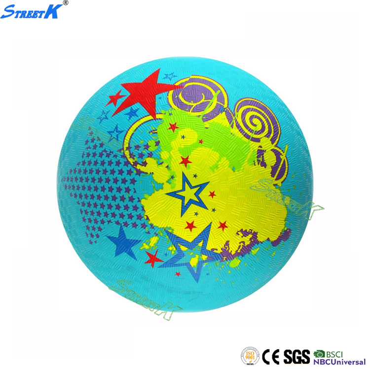 STREETK brand rubber playground ball for schools soft rubber ball for kids