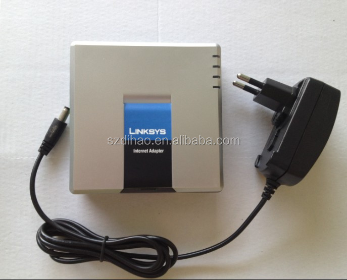 DIHAO Linksys Linksys SPA-3000 FXS, FXO VoIP Gateway SIP Analog Adapter