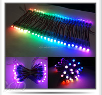 led light string ws2811 ic pixels light rgb dmx controller christmast leds decorate holiday lighting