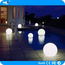 Led garden ball light for decoration/swimming pool/event/party/outdoor lighting