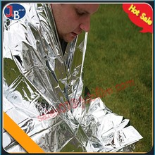 EBS6 emergency thermal heated mylar survival blanket Camping kit