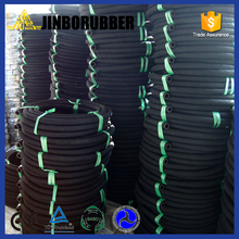Professional white blue color food grade rubber hose with high quality