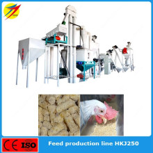 Maize,grain,soybean,rice feed mill production plant for cattle pig feed for sale